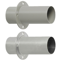Aluminum Duct Hose Items/Panel Mounting Flanges