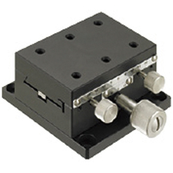 [Standard] X-Axis Dovetail Slide, Rack & Pinion - Rectangular