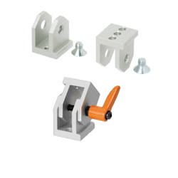 Free Angle Brackets - For 6 Series (Slot Width 8mm) Aluminum Extrusions