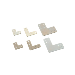 Sheet Metal Bracket For 6 Series (Slot Width 8mm) Aluminum Extrusions - L-Shaped
