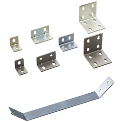 Sheet Metal Bracket For 6 Series (Slot Width 8mm) Aluminum Frames - Bent-Shaped