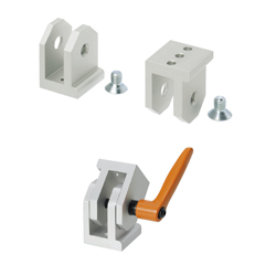 Free Angle Brackets - For 8 Series (Slot Width 10mm) Aluminum Extrusions
