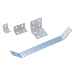 Sheet Metal Bracket For 8 Series (Slot Width 10mm) Aluminum Extrusions - Bent-Shaped