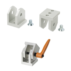 Free Angle Brackets - For 8-45 Series (Slot Width 10mm) Aluminum Extrusions