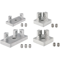 Foot Bases for Aluminum Extrusions