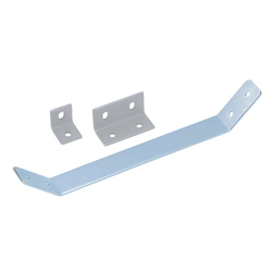 Sheet Metal Bracket For 8-45 Series (Slot Width 10mm) Aluminum Extrusions - Bent-Shaped