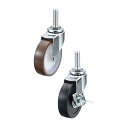 Screw-In Casters/Light/Medium Load