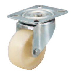 Casters - Medium Load - Wheel Material: Nylon - Swivel Type
