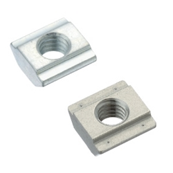 Pre-Assembly Insertion Spring Nuts for Aluminum Frames - Bulk Packages - For 5 Series (Slot Width 6mm) /Pack (100/Pkg.)