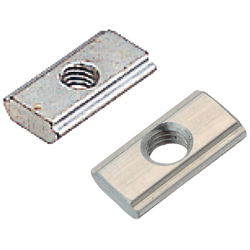 For 5 Series (Slot Width 6mm) - Post-Assembly Insertion - Stopper Nuts / Pack (100/Pkg.)