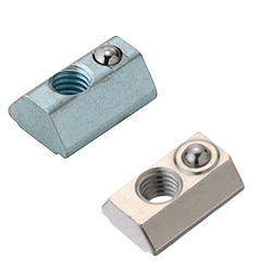 For 6 Series (Slot Width 8mm) - Post-Assembly Insertion - Spring Nuts / Pack (100/Pkg.)