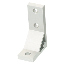 Extruded Brackets - For 1 Slot - For 8 Series (Slot Width 10mm) Aluminum Extrusions - Scalene Brackets