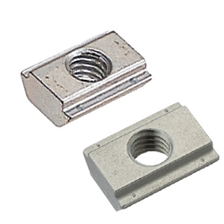 For 8 Series (Slot Width 10mm) - Post-Assembly Insertion - Stopper Nuts / Pack (100/Pkg.)