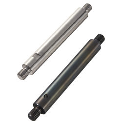 Linear Shafts-Both Ends Threaded with Undercuts and Wrench Flats / Cross-Drilled Hole