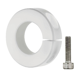 Shaft Collar Threaded Inserts (Lightweight) - Plastic, Clamp
