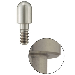 Locating Pins - High Hardness Stainless Steel Sphere Large Head (Threaded)