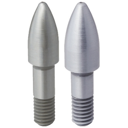 Locating Pins - Large Head, Bullet Nose, Compact - Threaded