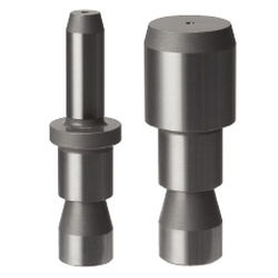 Locating Pins for Fixtures - Standard grade h7, Short Set Screw, Tip Shape Selectable (Circumference Groove)