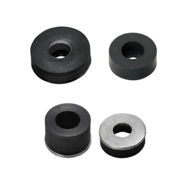Urethane Stoppers with Washers-Standard Type/Extra Low Head Screws Type/Low Elastic Rubber Type