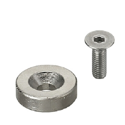 Magnet - Countersunk - Round Type