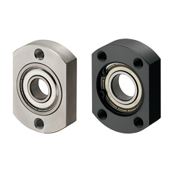 Bearings with Housings - Space Saving, Small Flanged, Non-Retained