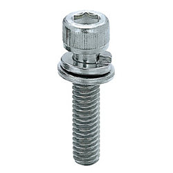 Screws with Captured Spring Washer Bulk Packages (500 pcs. per Package) Aluminum Extrusions