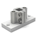 Vertical Hole for Angled Pipe Joint Aluminum Frames