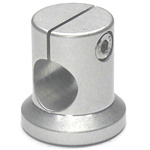 Round Pipe Joint, Same-Diameter Hole, Shaft End, Lateral