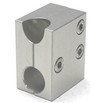 Round Pipe Joint, Same-Diameter Hole, 2-Split for 45° Support