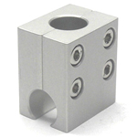 Round Pipe Joint, Same-Diameter Hole, 2-Split T-Shape