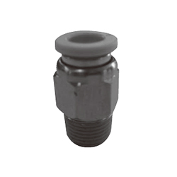 Push-In Fitting, WP Series, Male Connector