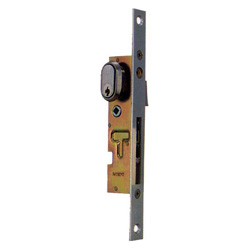 Double-sliding lock vinyl frame