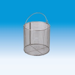 Washing Basket Stainless Steel Round
