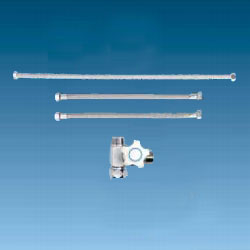 Water Purifier Piping Parts, Water Purifier Plumbing Kit (Auxiliary Stopcock Type), JHK207