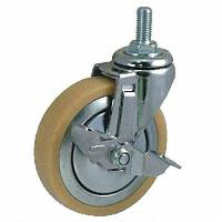 Anti-Static Caster SM Series with Swivel Stopper (OCTRON Urethane Wheels)