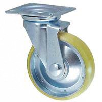 Anti-Static Caster, STM Series, Freely Swiveling (Includes Anti-Static Urethane Wheel)