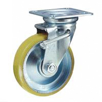 Anti-Static Caster STM Series Swivel with Stopper ( Anti-Static Urethane Wheels)