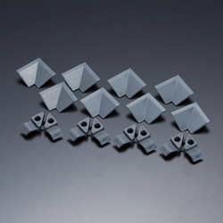 Corner screw set