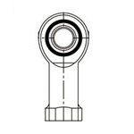 Rod End Bearing, Right Female Thread, Molded Type - TN RBM