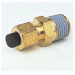 Quick Seal Series Insert Type (Brass Specifications) Connector (NPT Thread) (Inch Size)