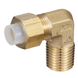 QuickSeal Series Insertion Type (Brass Specifications) 90° Elbow (mm Size)