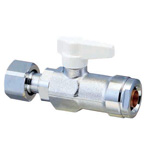 Double Lock Valve, WB24 Type, Adapter with Nut
