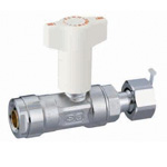 Double Lock Valve, CBW7, Ball Valve with Check Valve, Straight