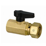 CAPORI 2 Ball Valve, KSB2, Tapered Female Screw