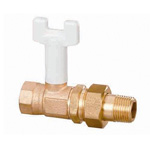 BS Type (Bronze) Ball Valve, BS6 Type, Rc Screw × Rc Screw (Union Type)