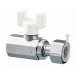 AE11 Type Ball Valve, Rc Thread × Adapter with Nut (G Thread)