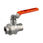 Stainless Steel Ball Valve, SBFF2 Type, Lever Handle, Full-Bore (SCS13A)