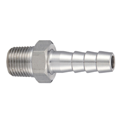 Stainless Steel Hexagonal (Octagonal) Hose Nipple - SFHN and SMHN Types