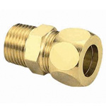 Brass Fitting, Half Union (Brass Sleeve)