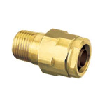 Double Lock Joints Model WJ1 Tapered Male Thread Brass